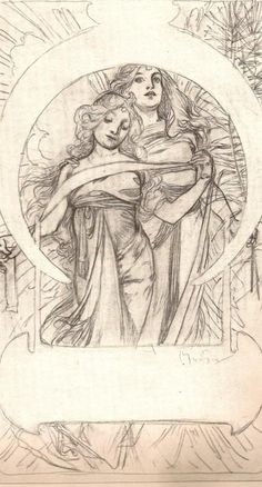 La genialidad de alphonse mucha✖️More Pins Like This One At FOSTERGINGER @ Pinterest✖️