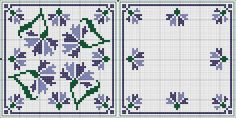 Cross-stitch Biscornu... no color chart available, just use the pattern chart as your color guide.. or choose your own colors...   Картинка