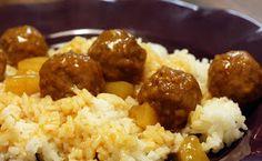 Molly Crocker Cooking: Pineapple Sweet 'N Sour Meatballs