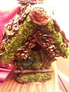 The Woodland Fairy House by MagickMoss on Etsy, $15.00