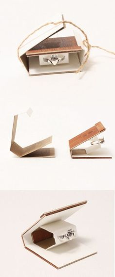 packaging para anillos pequeños
