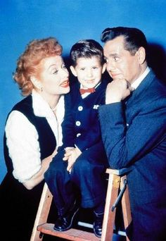 "Lucy, Desi, and ""Little Ricky"" by Lucy_Fan, via Flickr"