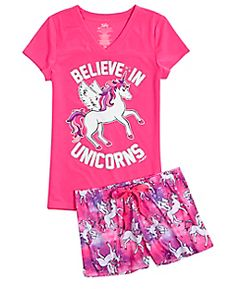 Shop Unicorn Pajama Set and other trendy girls sleepover shop the collections at Justice. Find the cutest girls the collections to make a statement today. Girls Fashion Clothes, Tween Fashion, Girl Fashion, Fashion Outfits, Cute Pajamas, Girls Pajamas, Cute Outfits For Kids, Cute Summer Outfits, Girly Outfits