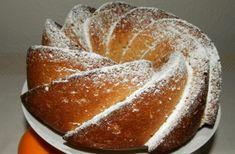 Recept Pomerančová bábovka Scones, Bread, Cheese, Cookies, Orange, Recipes, Bundt Cakes, Tarts, Food