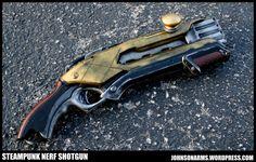 Steampunk Era Shotgun Prop by JohnsonArms on DeviantArt