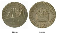 Olympic Medals 1964 Innsbruck