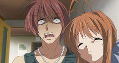 anime gif clannad clannad spoiler clannad after story nagisa furukawa Tomoya Okazaki Sanae Furukawa Akio Furukawa family otp blush mine mygif clannadgif photoset favorite gif favorite scene anime mom nsfw ???