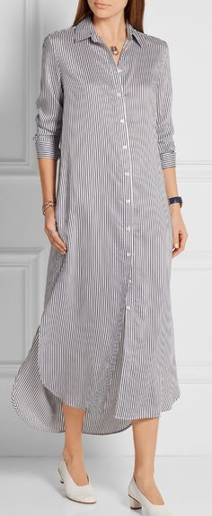 ❤️ Abaya Fashion, Fashion Wear, Indian Fashion, Fashion Models, Fashion Dresses, Womens Fashion, Dress Skirt, Shirt Dress, Kurta Designs