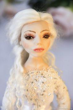 Коллекционная кукла Кристал. Автор Марина Владимирова. Elsa, Disney Princess, Disney Characters, Disney Princesses, Jelsa