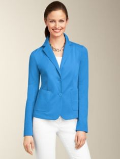 Talbots - Ponte Knit Jacket  | Jackets  | Misses