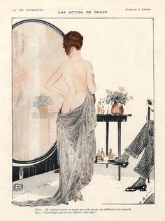 Georges Léonnec (1881 – 1940). La Vie Parisienne, 1917. [Pinned 20-i-2015]