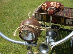 Tiki Trike Idea - Beach Cruiser - coconut headlamp ❤