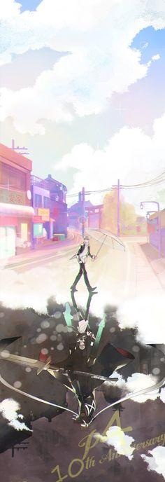 Just another day in Inaba Persona 4 Wallpaper, Yosuke Hanamura, Yu Narukami, Shin Megami Tensei Persona, Akira Kurusu, Deadman Wonderland, Good Smile, Persona 5, Anime Comics