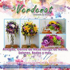 Una composición de motivos decorativos,Arreglos Florales para todo tipo de eventos solo con Verdenat! http://negocilibre.com/directorio/verdenat/ https://www.facebook.com/Verdenat-117797768396204/?fref=ts