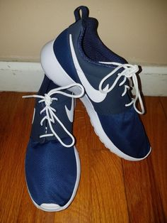 99e4cf9253424 Nike Roshe One (PS)  Midnight Navy White  Size 6.5 Y  New