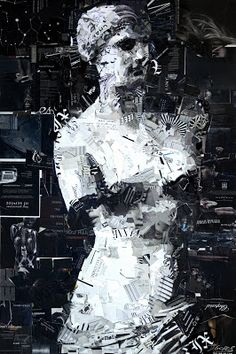 Collage Artist Derek Gores