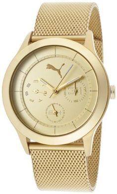 Puma Curve - S Metal Gold Women's watch #PU102682005 PUMA. $112.87