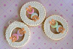 Twin cookies | by Three Honeybees
