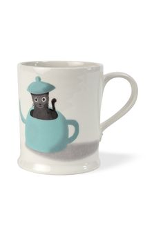 Fenella Smith, Cat Mug for Fortnum & Mason