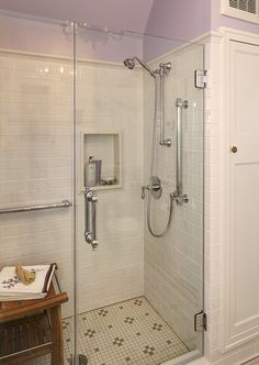 bathroom design 1920s house. leslie dohr interior design | 1920\u0027s bathroom remodel love the shower tile and edging. 1920s house