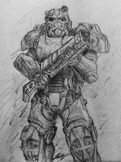 Fallout 4 | T-60b Power Armor by Silent-Valiance
