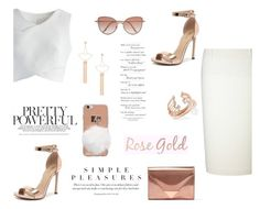 """""""♥"""" by macopa ❤ liked on Polyvore featuring Chicwish, Roland Mouret, Verali, Alexander Wang, Kendra Scott, Sole Society and Cutler and Gross"""