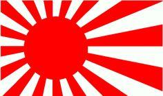 modèle drapeau japonais