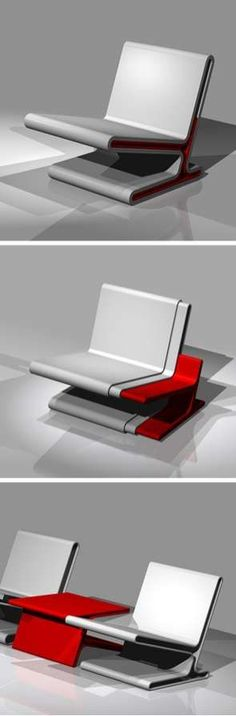 The Easy Chair #smallspaceorganization #smallspacedecor trendhunter.com