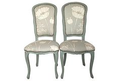 Floral Upholstered Chair - Foter