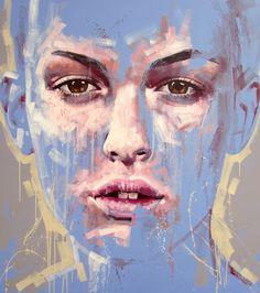 Jimmy Law - child innocence - self taught artist - oil