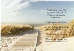 Gedicht auf Transparentpapier Schöne Ferien