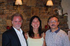 President Jim Nolan, Vice President Katherine Ninos, and Keynote Lewis Mehl-Madrona...