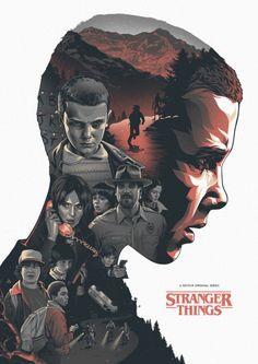 Stranger Things by Amien Juugo