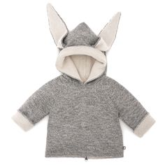 REVERSIBLE ANIMAL HOODIE by #Oeufnyc