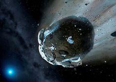 Actualité > Des astéroïdes riches en eau existaient autour d'une naine blanche
