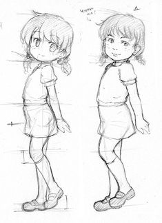 Junk Sketch 36 by CatPlus on DeviantArt - illustrations Cartoon Cartoon, Cartoon Drawings, My Drawings, Body Drawing, Manga Drawing, Figure Drawing, Drawing Reference Poses, Anatomy Reference, Drawing Faces