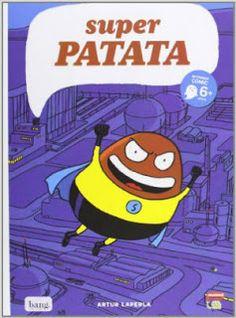Cuentos divertidos y ¡a reír! Super patata, bang ediciones, cómic