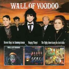 Wall Of Voodoo - Seven Days in Sammystown/Happy Planet/The Ugly Americans in Australia, Blue
