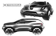 Nissan X Terra on Behance