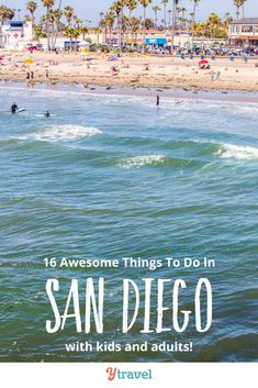 Planning to visit San Diego? Here are 16 of the best things to do in San Diego California, plus tips on restaurants in San Diego, where to stay in San Diego and the best hotels for families, getting around, free activities with kids, parks and other places to visit besides the beach, and much more. Don't take your San Diego vacation until you have read this guide of what to do in San Diego on a family vacation! #Sandiego #california #beachvacation  #sandiegotravel #familytravel #familyvacation