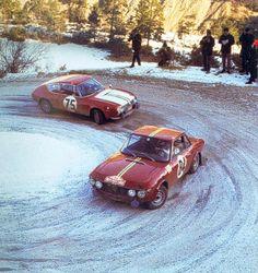 Lancia Fluvia Rally Monte Carlo