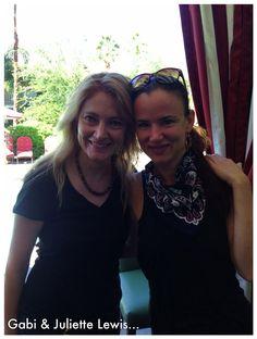 Gabi and Juliette Lewis