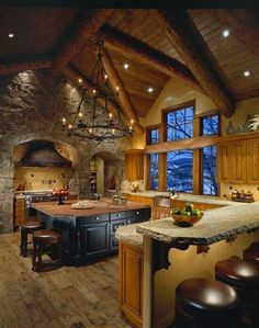 Dream Enchanted Kitchen