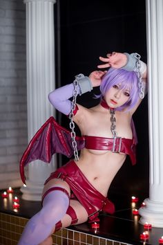 Lilith(Vampire Savior) | sujinLee on Worldcosplay