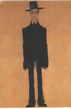 Egon Schiele. Autoportrait More