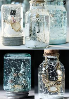Snow globes.