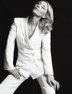 Cate Blanchett, photographed by Matias Indjic during the 68th annual Cannes Film Festival for Madame Figaro, June 2015.