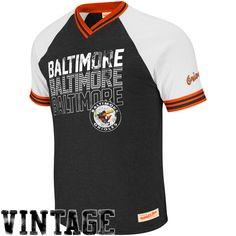 Baltimore Orioles Bleacher Seat V-Neck Premium T-Shirt