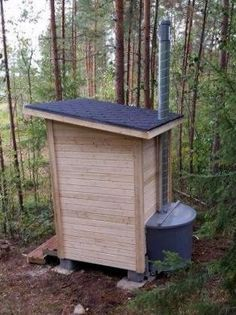 Outhouse Ideas Composting Toilet Outdoor Bathrooms Camping Bathroom Showers Refuge Camper Awnings Tree Houses Surf House