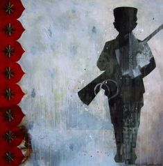 child soldier by Alexandra Suarez Acrylic Painting Canvas, Canvas Art, Original Art, Original Paintings, Figurative Art, South America, Buy Art, Saatchi Art, Abstract Art